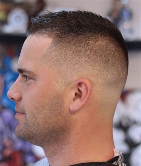 fade buzz cut  men  hairstyles crew cut haircut
