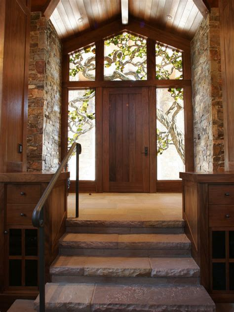 stained glass front door houzz