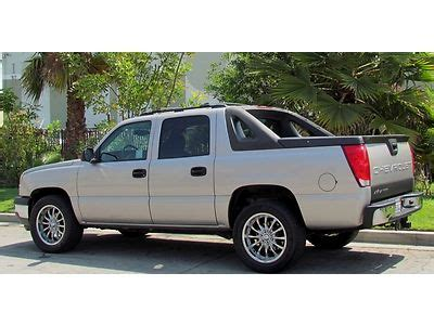chevrolet avalanche 1500 california 9 find used 2005 chevrolet avalanche ls 1500 clean one owner