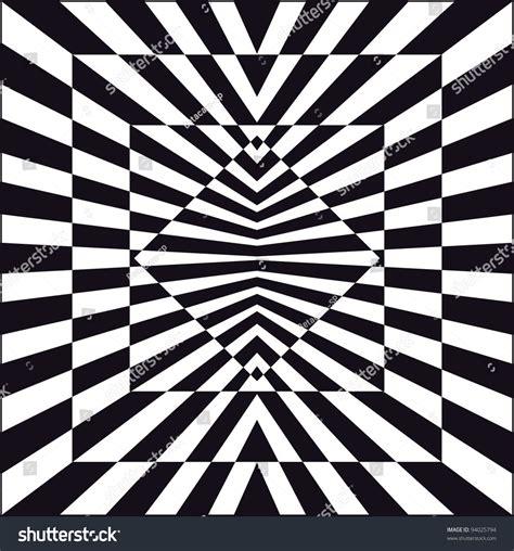 op art  optical art style stock vector