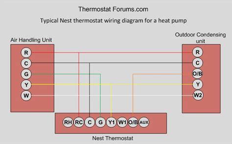 nest thermostat wiring