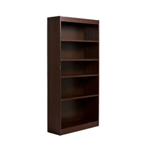 dark walnut bookcase bkc arenson
