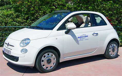 fiat 500 cabrio automatik eurocars autovermietung fiat 500 cabrio automatik