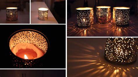 photophore avec boite de conserve d 233 co bougies et photophores astuces bricolage