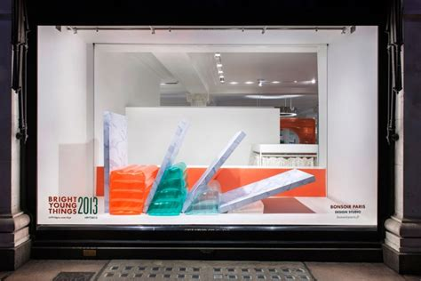 bright young  pop  store  window design