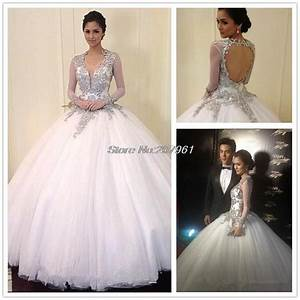 buy sexy bling princess ball gown white wedding dress 2016 With princess ball gown wedding dresses with bling
