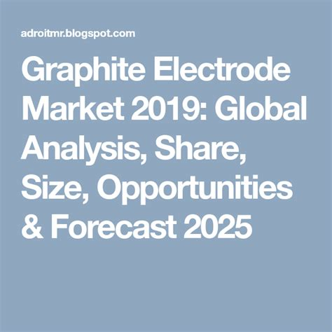 graphite electrode market  global analysis share size opportunities forecast