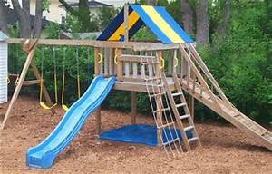 Swing Sets - Jungle Fort Swing Set