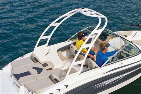 Velocity Boat Tower by 2015 Chaparral Boats 224 Builder