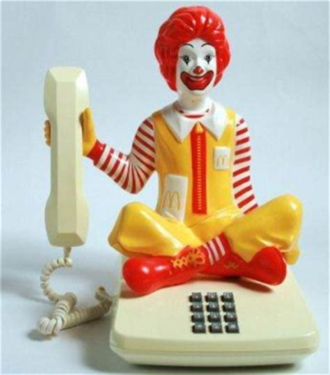 mcdonald s phone bigfoot den novelty and animated collectable telephones