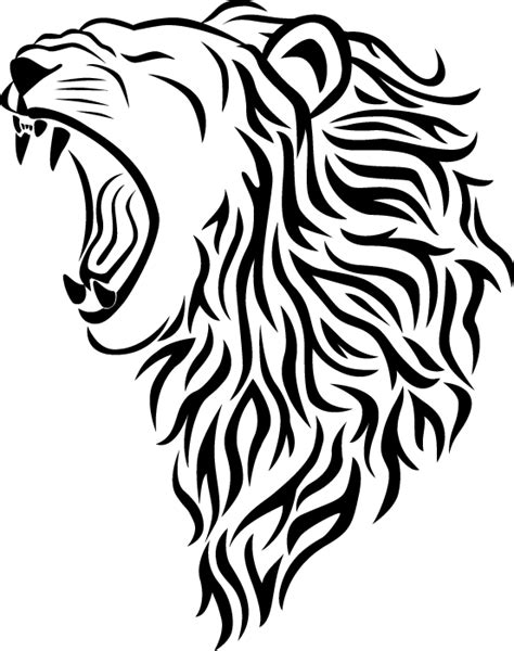 The Gallery For > Tribal Lioness Tattoo