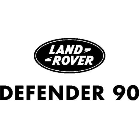sticker  autocollant land rover defender