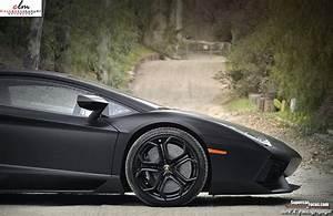 Lamborghini Aventador Matte Black Wallpaper Hd ...