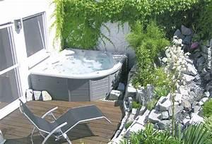sprudelspass im garten whirlpool zu hausede With whirlpool garten mit loungemöbel balkon klein