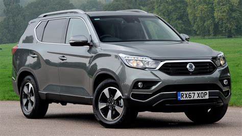 ssangyong rexton  pictures revealed