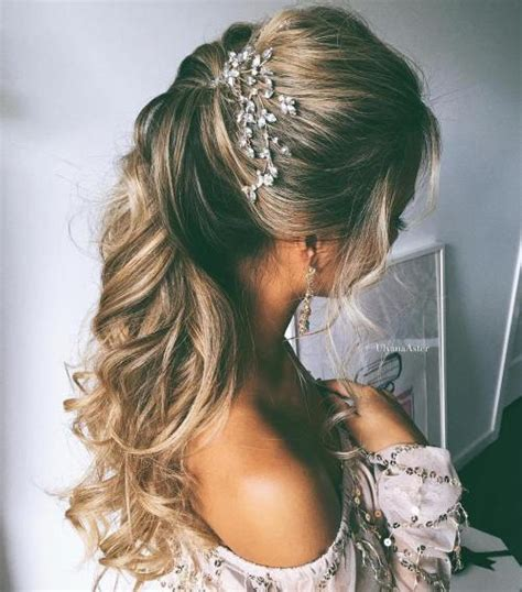 Simple Hairstyles For Hair Wedding by Half Up Half Wedding Hairstyles 50 Stylish Ideas