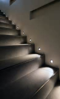 on stairs spotlights pinteres