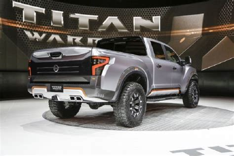 nissan titan warrior specs redesign engine