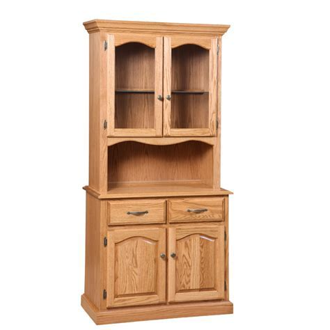 Traditional 2 Door Buffet and Hutch   Home Envy