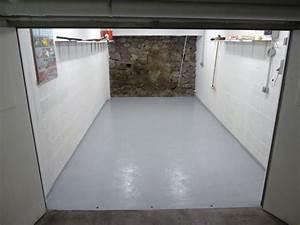 amenagement garage degraissage avant peinture au sol With peinture sol beton garage