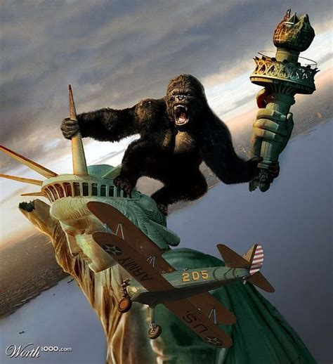liberty statue kong king movies flickr godzilla vs horror monster giant monsters climbs yt alien 4th happy cool