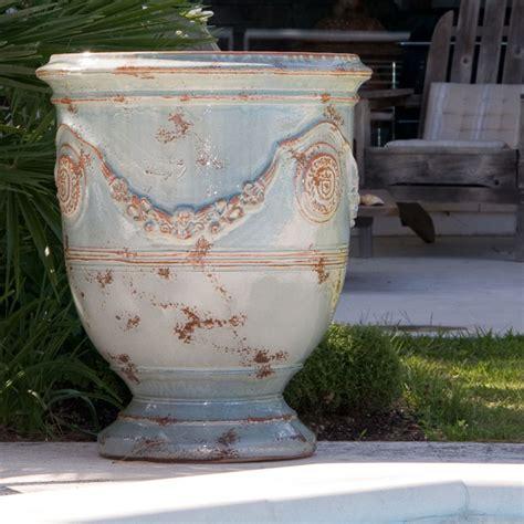 chene vert en pot anduze vases cox garden designs