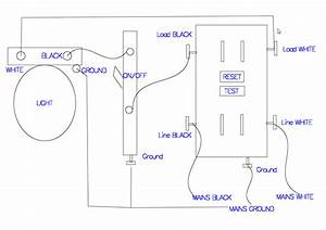 Wiring A Gfci Outlet With A Light Switch Diagram