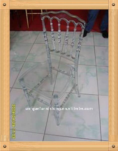 chaise napoleon transparente résine transparente chaise napoleon