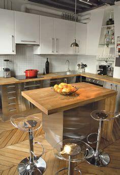 creer une cuisine dans un petit espace aménagement cuisine ouverte sur salon bar