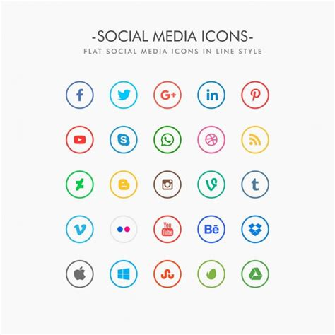Social Media Icons Vector The Gallery For Gt Instagram Vector Social Media Icon
