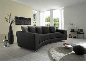 Big Sofa Grau : wonderful big sofa of sofa schwarz sofa grau sofas couch grau rundcouch rundes sofa for ~ Buech-reservation.com Haus und Dekorationen