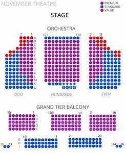 Virginia Rep  November Theatre Seating Chart 2017  18