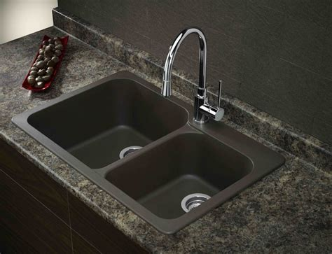 black granite kitchen sink composite kitchen sinks masculine black kitchen double