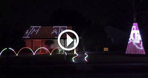 texas a m christmas lights video texas a m fan pays homage to aggies with impressive
