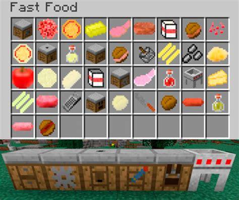 cuisine mod鑞e fast food mod para minecraft 1 12 1 12 1 y 1 12 2 minecrafteo
