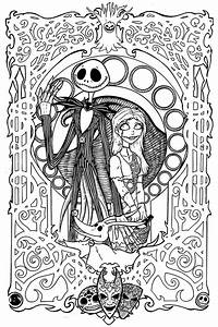 Nightmare Before Christmas Printable Coloring Pages - AZ ...