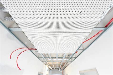 pannelli controsoffitto cartongesso pannelli per controsoffitto radiante by rehau