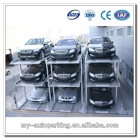 Pit Type 2 Level /3 Level 4 Post Car Parking Lift For Home