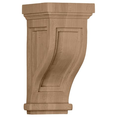 Wood Corbels by Traditional Mission Style Wood Corbel