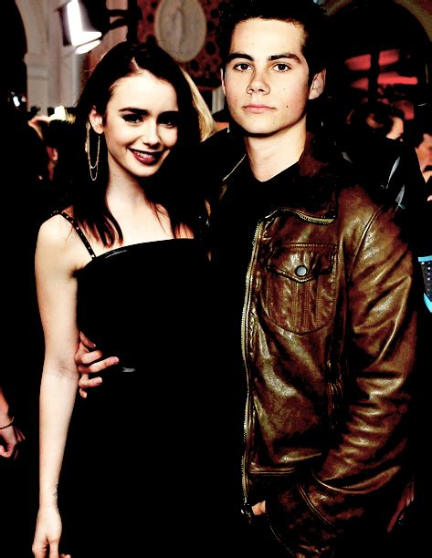 dylan o brien kristen stewart lily collins and dylan o brien tumblr