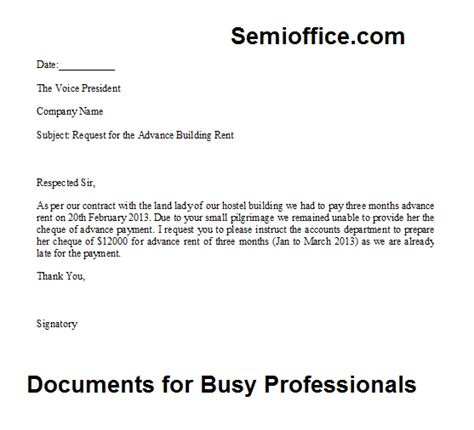 sample letter requesting payment sample business letter
