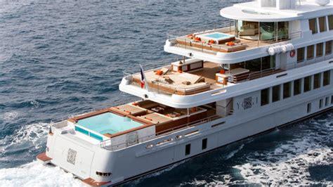 superyacht yogi  floating resort  zen ambiance