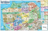San Francisco Map with Real Estate District Boundaries ...