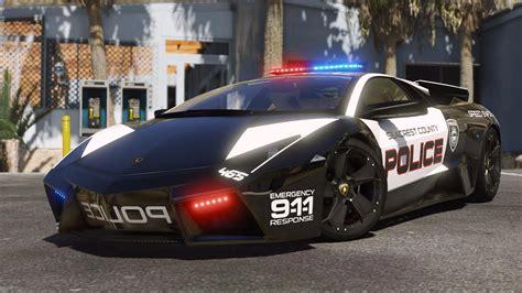 lamborghini reventon hot pursuit police autovista add