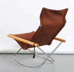Takeshi Nii QuotNYquot Folding Rocking Chair At 1stdibs