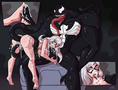 Black Cat And Venom By Dahs Hentai Foundry