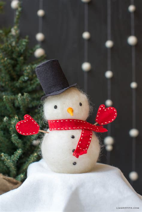 adorable diy snowmen      kids