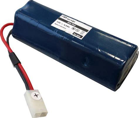 1 2 volt akku 12v 4 5ah ni mh akkupack mit panasonic hhr450a