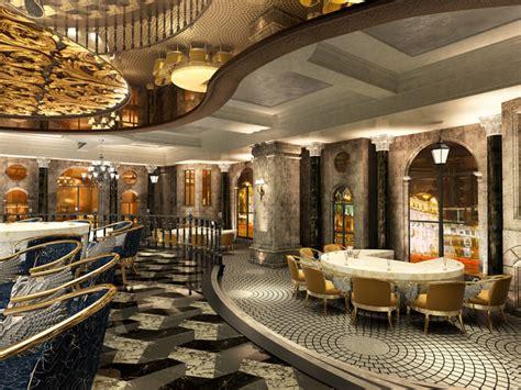 high  restaurant  modern interior decor  model max