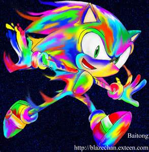 Psychedelic Sonic Colors